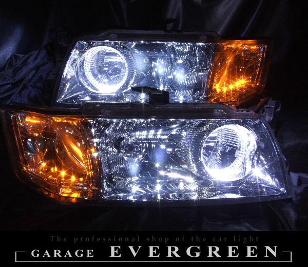N84W N94W シャリオグランディス 後期 LEDイカリング ヘッドライト