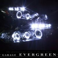 ★Z51ムラーノ★イカリング6連装&増設高輝度LED HID仕様 レンズクリーニング・コーティング済み オーダーLED加工ドレスアップヘッドライト