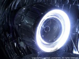 ★C25セレナ前期★CCFL付きバイキセノンプロジェクター&増設高輝度LED&インナーブラッククロム塗装仕様 レンズクリーニング・コーティング済み オーダーLED加工ドレスアップヘッドライト