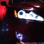 イカリング&増設20発LED&ブラック 仕様 レクサス IS 前期・中期 HIDヘッドライト