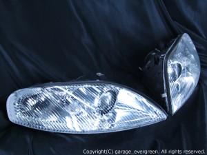 JZZ30/JZZ31/UZZ30/UZZ31/UZZ32 30系 ソアラ 純正加工品 後期ベース ウィンカークリア ドレスアップヘッドライト