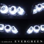 エバーグリーン LEDイカリング ヘッドライト加工 LED加工 単体