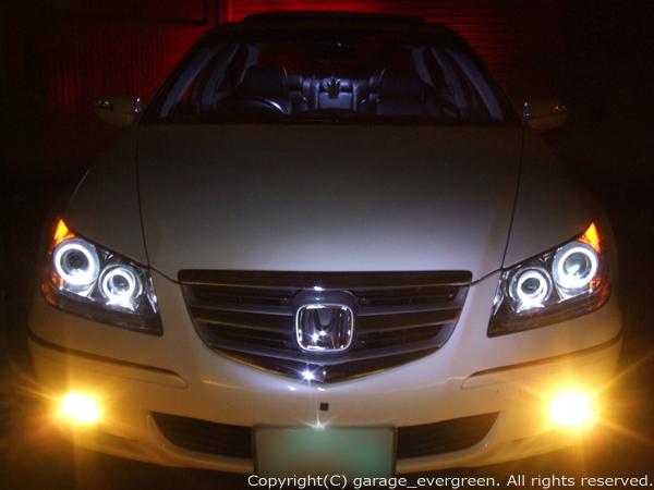 ホンダ KB1 レジェンド 4連イカリング&高輝度LED増設 仕様
