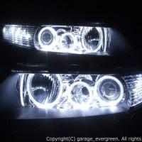 CL7/8/9 CM2/3 アコード/アコードワゴン 前期ベース 6連白色イカリング&高輝度LED増設12発 仕様