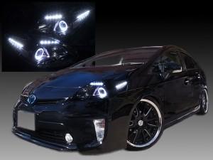 ブラッククロム&白色イカリング&増設22連LED 仕様