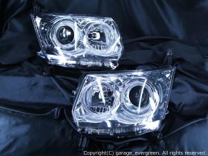 イカリング4連装&高輝度LED増設仕様 ムーヴ カスタム L175/L185系 後期