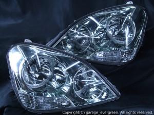 UCF30/UCF31 セルシオ 前期 限定 白・橙LED W増設モデル LEDイカリング4連装&増設36発高輝度LED 仕様