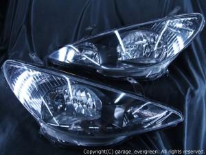 ACR/MCR 30/40 エスティマ 前期 アエラス ブラックインナーベース ウィンカークリアヘッドライト