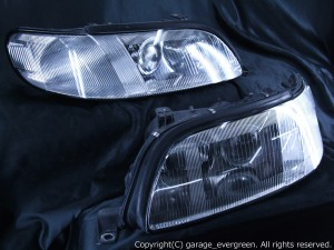 UZS143/JZS147 14系アリスト ウィンカークリア 仕様 ヘッドライト