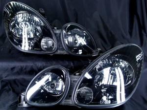 ★16 アリスト 前期/後期★インナーブラッククロム塗装仕様 レンズクリーニング・コーティング済み オーダー加工ドレスアップヘッドライト
