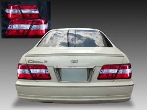 Y33系 シーマ スーパークリア <インナー加工 反射板内蔵> 純正加工品 クリスタル テールライト セット