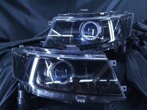現物加工 MH23スティングレー ブルーアイ LEDイカリング