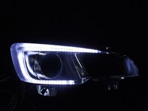 ヘッドライト現物加工 レヴォーグ LED