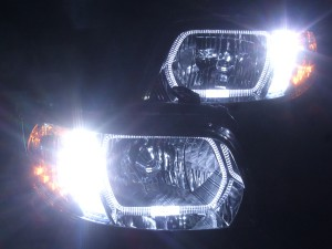 JE1 JE2 ゼストスポーツ LEDイカリングドレスアップヘッドライト3