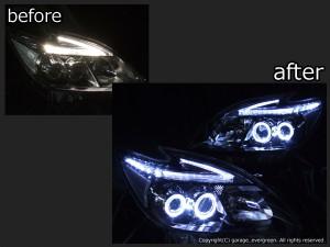 トヨタ ZVW30系 プリウス 後期 純正LEDロービーム車用 純正ドレスアップヘッドライト 4連LEDイカリング&超高輝度白色LED12発増設&純正ポジションLED色替え加工&インナーブラッククロム4連LEDイカリング&超高輝度白色LED12発増設&純正ポジションLED色替え加工&インナーブラッククロムトヨタ ZVW30系 プリウス 後期 純正LEDロービーム車用 純正ドレスアップヘッドライト 4連LEDイカリング&超高輝度白色LED12発増設&純正ポジションLED色替え加工&インナーブラッククロム4連LEDイカリング&超高輝度白色LED12発増設&純正ポジションLED色替え加工&インナーブラッククロム