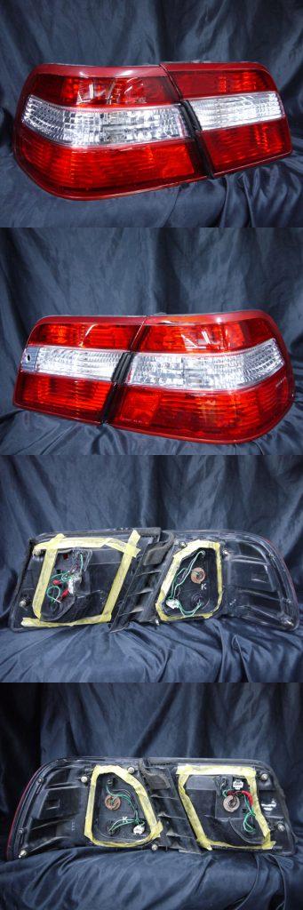 日産 Y33系 シーマ 純正ドレスアップテールライト 反射板内蔵・純正加工クリスタル