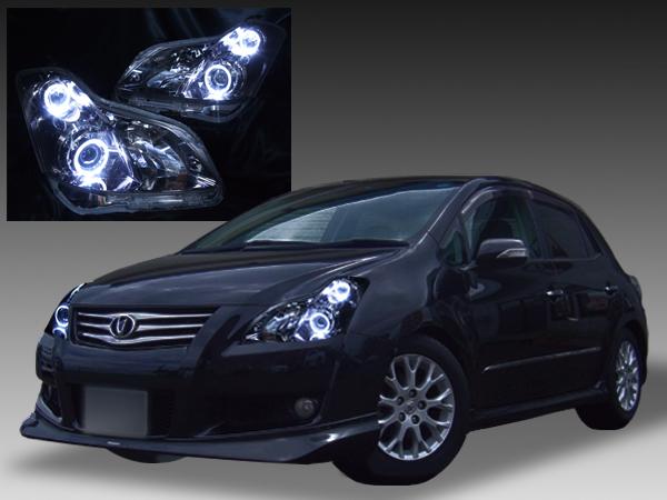 トヨタ ブレイド 前期 純正HID車用 純正ドレスアップヘッドライト 4連高輝度白色LEDイカリング