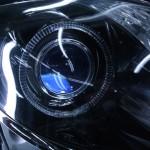 レクサスGS ブルーアイ仕様グラック&LEDイカリングヘッドライト