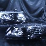 CR-Z 前期 インナー塗装ブラッククロム ヘッドライト加工