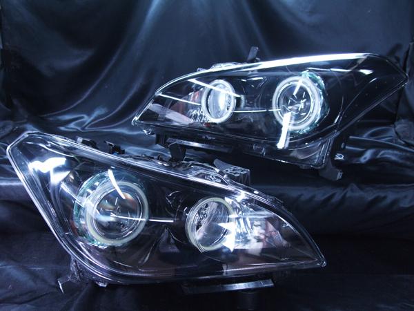 Y51フーガ「AFS有」 インナーブラック&COBイカリング ヘッドライト加工