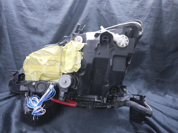 レクサス 20系 IS 前期/中期 純正HID車用 純正ドレスアップヘッドライト 4連LEDイカリング&高輝度白色LED12発増設&高輝度橙色LED8発増設&インナーブラッククロム