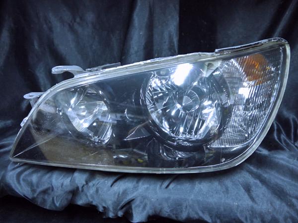 トヨタ SXE10/GXE10 アルテッツァ 後期 純正ドレスアップヘッドライト インナー塗装 ブラッククロム