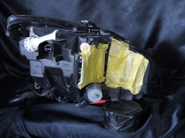 レクサス 20系 IS 前期/中期 純正HID車用 純正ドレスアップヘッドライト インナー塗装 ブラッククロム