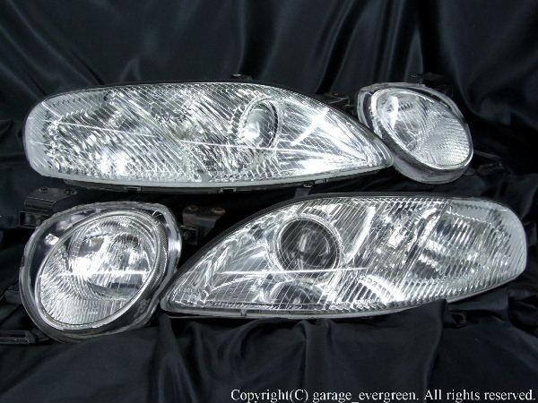 30 ソアラ オーダー加工 ドレスアップヘッドライト LEDイカリング&LED増設 仕様
