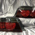 ワンオフ加工■100系 チェイサー シーケンシャルウインカー&バックランプLED化&インナーブラック塗装 仕様 純正ドレスアップテールランプ