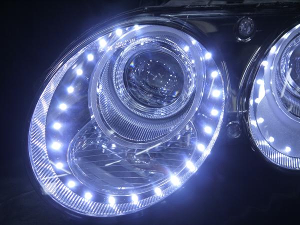 ベントレー コンチネンタルGT/GTC/フライングスパー 純正ドレスアップヘッドライト 白LED増設&レンズクリーニング&コーティング済み 仕様