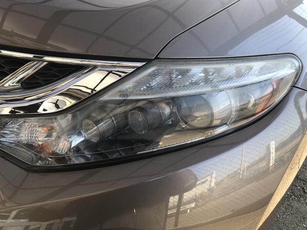 Z51 ムラーノ 純正加工品 ドレスアップヘッドライト 交換・お取り付け