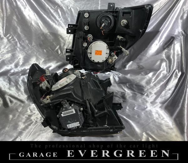 E51系 エルグランド 中期/後期 AFS仕様車用 インナーブラック塗装 仕様 純正ドレスアップヘッドライト