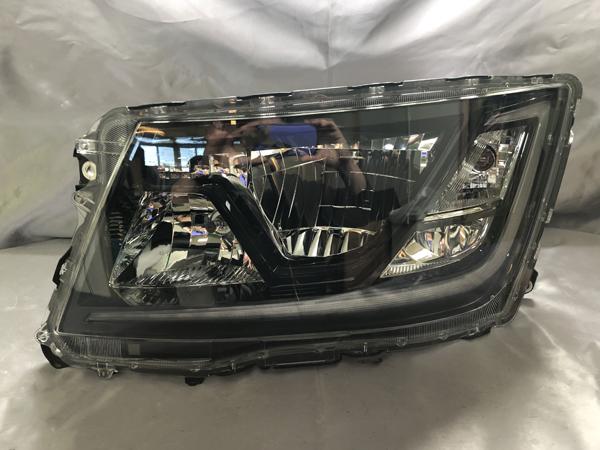 オーダー 17系 プロフィア/レンジャー 可変機能無し シーケンシャルウインカー&ウインカークリア加工 仕様 純正加工品 ドレスアップヘッドライト