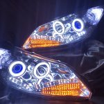 GB3/GB4 フリード 社外品 追加加工 ドレスアップヘッドライト シーケンシャルウインカー&LED増設&COBイカリング仕様