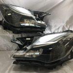 オーダー加工 マセラティ クアトロポルテ(2013.04-) インナー艶消しブラック塗装&レンズコーティング加工済み 仕様 純正加工 ドレスアップヘッドライト