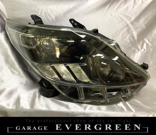 20系 アルファード AFS無し車 インナーブラック塗装&レンズコーティング加工 純正加工 ドレスアップヘッドライト