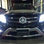 ベンツ GLKクラス X204 後期 デイライト色替え&LED増設&イカリング 仕様 オーダー 純正加工 ドレスアップ ヘッドライト