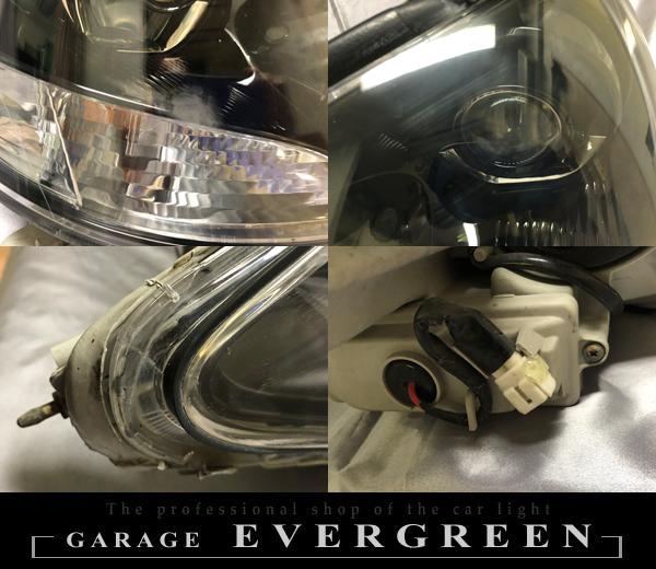 30系 セルシオ 後期 インナーブラック塗装&レンズコーティング加工済み 仕様 純正加工 ドレスアップ ヘッドライト