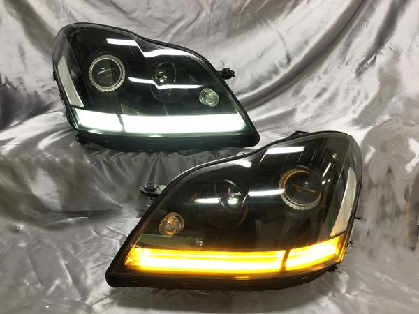 ベンツ X164 GL インナー・レンズスワップ加工 純正加工品 ドレスアップ ヘッドライト