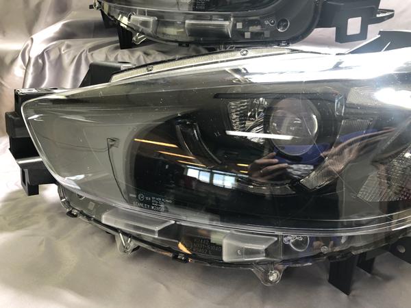 オーダー加工 CX-5 後期 リフレクタークロムメッキ塗装&コーティング済み 純正加工 ドレスアップ ヘッドライト KEEFW/KEEAW/KE2FW/KE2AW【車検対応】