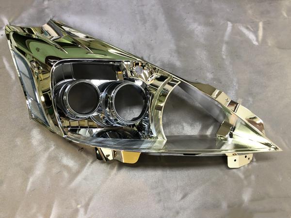 オーダー加工 ZVW40/41 プリウスα 前期 プロジェクター ゴールデンアイ 仕様純正加工品 ドレスアップ ヘッドライト プリウスアルファ