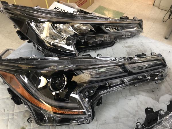 ZRE212/ZRE212W カローラセダン/カローラツーリング 社外欧米ヘッドライト交換・ヘッドライト取付け