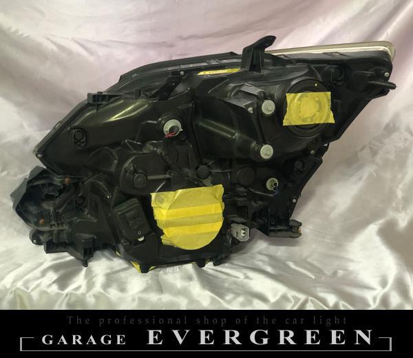 【車検対応】20 ヴェルファイア AFS無し車用 インナーブラック塗装&コーティング加工済み 純正加工 ドレスアップヘッドライト