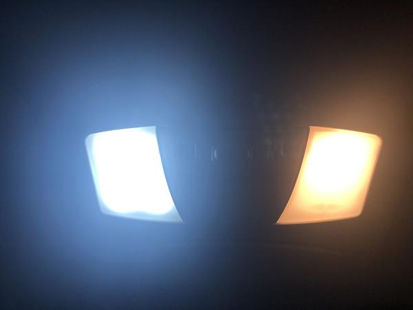 E52 エルグランド中期/後期 LEDルームランプ交換
