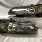 S15シルビア 新品 社外レンズ 交換作業 ヘッドライト交換