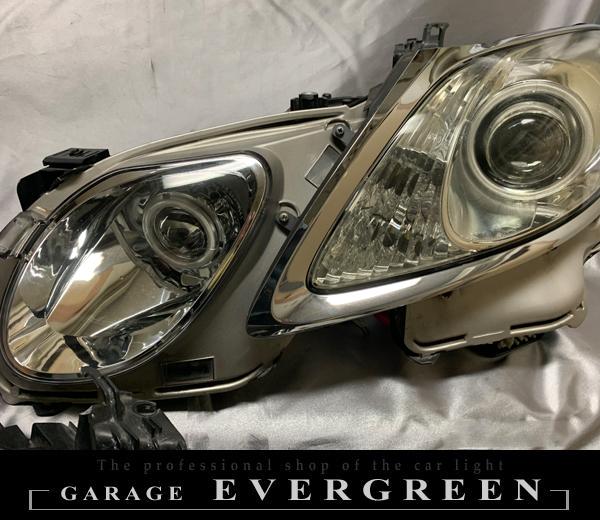 ワンオフ加工 レクサス 19系 GS 純正加工品 ドレスアップ ヘッドライト CCFLイカリング&LED増設 仕様 左右セット