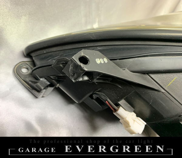 レクサス SC430 前期/後期 インナーブラック塗装&コーティング加工済み 純正加工 ドレスアップ ヘッドライト 【車検対応】